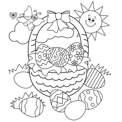 Húsvéti színező 1.