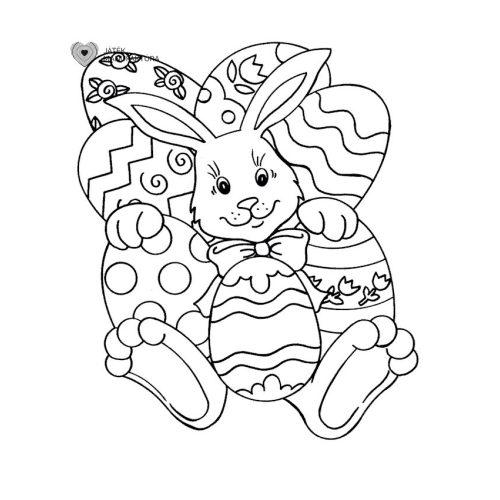 Húsvéti színező 2.
