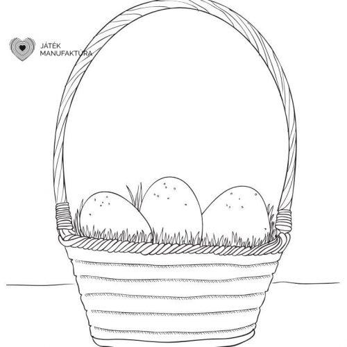 Húsvéti színező 8.